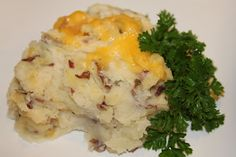 Twice Bakes Red Mashed Potatoes - Sounds Yummy!