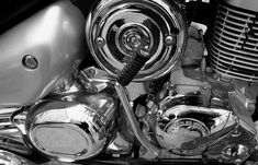 Chrome Plating, Chrome Finish, Brass, Motorcycle, Silver, Detail, Amazing, Biking, Copper