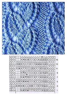 Save those thumbs Knitting Stiches, Crochet Stitches Patterns, Knitting Charts, Sweater Knitting Patterns, Lace Knitting, Stitch Patterns, Knit Crochet, Knitting For Kids, Knitting Projects