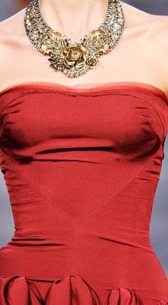 but as more of a heart shape? ......................................................Zac Posen