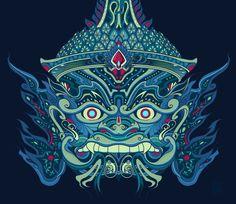 Guardian Yaksha by Nexxorcist.deviantart.com on @DeviantArt