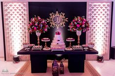 For a toned down, sleek vibe 18th Birthday Party, Sweet 16 Birthday, Paris Party, Paris Theme, Outdoor Wedding Decorations, Birthday Party Decorations, Sweet 16 Masquerade, Sweet Fifteen, Quinceanera Party