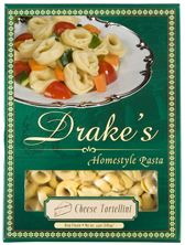 Drake's Pasta - Cheese Tortellini    Perfect for a Spring Salad option...