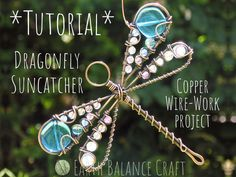 Dragonfly Tutorial Copper Wire Tutorial PDF Download | Etsy