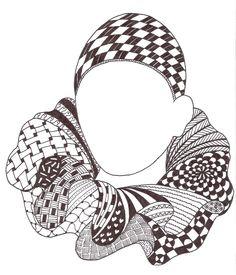 Zentangle made by Mariska den Boer 36