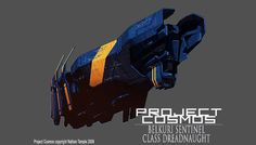concept ships: Project Cosmos concept ships by Nate Temple