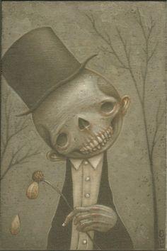 Melacholy skullboy