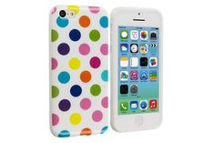 High-res graphics allows you to make a personal statement. An iPhone cover that we love most. Iphone 5c Cases, New Iphone, Polka Dots, Tech, Pattern, How To Make, Technology, Patterns, Tecnologia