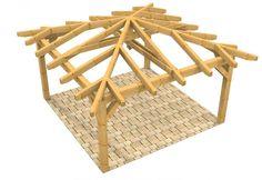 6 DIY Timber Pergola Tips .sun or rain. The pergola must be supported by woode. 6 DIY Timber Per Carport Plans, Gazebo Plans, Wooden Columns, Wooden Gazebo, Hot Tub Gazebo, Backyard Gazebo, Pergola Designs, Pergola Kits, Diy Pergola