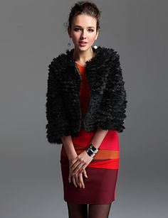 TS Round Neck Flower Fur Coat http://ltpi.co.nf/?item=244172