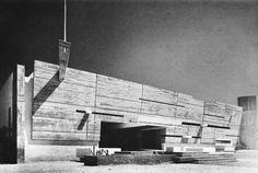 Post Office, Agadir, Morocco, 1966     (Jean-François Zevaco) Architecture Awards, Architecture Office, Beautiful Architecture, Architecture Design, Agadir Morocco, Beaux Arts Paris, Deconstructivism, Concrete Facade, Built Environment