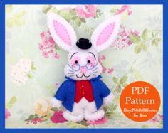 Image result for felt rabbits