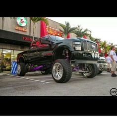 i love this truck Jacked Up Trucks, Big Trucks, Ford Trucks, Boy Toys, Toys For Boys, My Dream Car, Dream Cars, Power Stroke, American Stock