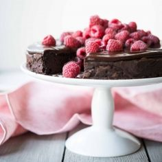 Fed + Fit Flourless Chocolate Cake.