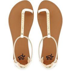 2b bebe Bellini Flat Sandals