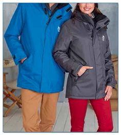 SeaHorse-Collection, unisex parka with quilted lining, 89,99€