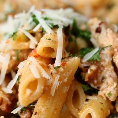 Creamy Chicken Penne Recipe by Tasty