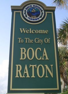 Boca Raton, FL. Loved Boca!
