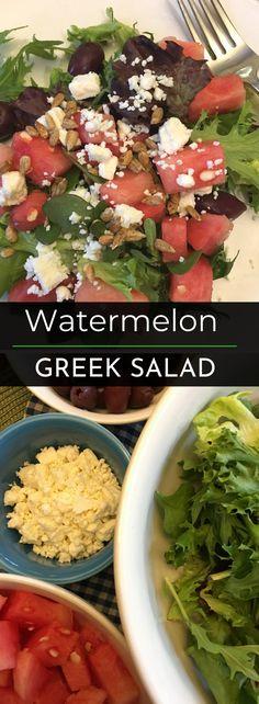 Watermelon Greek Sal