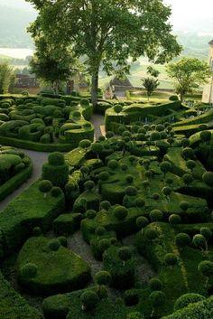 Jardins de Marqueyssac, France