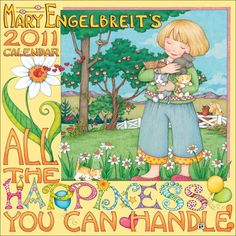Mary Engelbreit pictures | Mary Engelbreit's 2011 Wall Calendar