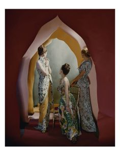 Vogue - January 1947 by Cecil Beaton