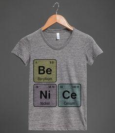 Be Nice - Be Ni Ce | T-Shirt
