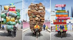 Look At These Chinese Workers Carrying Mind-Blowing Amounts Of Stuff