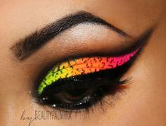 Beauty Palmira: Neon Look & Tutorial