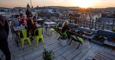 Intoxicating Views: 4 Budapest rooftop bars