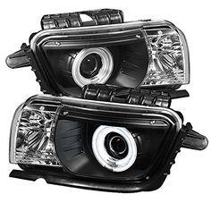 Spyder Auto PRO-YD-CCAM2010-CCFL-BK Chevy Camaro Black Dual CCFL Halo Projector Headlight - http://musclecarheaven.net/?product=spyder-auto-pro-yd-ccam2010-ccfl-bk-chevy-camaro-black-dual-ccfl-halo-projector-headlight