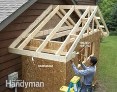 gable off shed roof