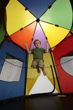 8ft Tr&oline Circus Tent  sc 1 st  Pinterest : 8ft trampoline tent cover playhouse - memphite.com