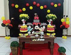 Decoração festa Mickey @decoracaofestasafetivas