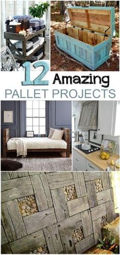 Pallet projects, easy DIY projects, DIY, DIY decor, DIY furniture, popular pin, easy furniture, furniture flips, flipping furniture. by deirdre