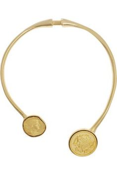 On trend with a twist!   Gold-plated necklace #accessories #women #covetme #kennethjaylane