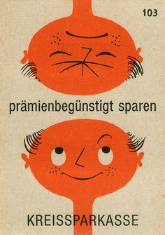 german matchbox label, via maraid