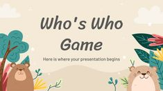Free Google Slides themes and Powerpoint templates | Slidesgo Power Points, Vocabulary Workshop, English Vocabulary, School Icebreakers, School Games, Ppt Themes, Diy Air Dry Clay, Microsoft Powerpoint, Powerpoint Presentations