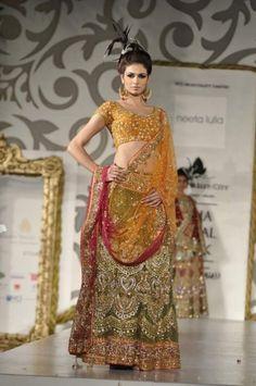 Bollywood bridal lehenga 9