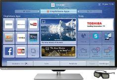 "Toshiba 50L7363DG inkl. 3D Brille, 126 cm (50 Zoll), 1080p (Full HD) LED Fernseher - ЦЕНА СЕЙЧАС  € 749,99/ СТОИЛО € 1.199,00/ (ВЫ ЭКОНОМИТЕ € 449,01 bzw. 37%)"" 3D, Full HD, Smart, ELED TV, inkl. 3D Brille 200Hz AMR, Cloud TV Integr. Multituner (DVB-T/C2/S2) 2x USB/4x HDMI/1 CI+ Slot Energieeffizienz: A+, Energieverbrauch/Jahr: 75,9W/105,3KWh/ 48 МЕСЯЦЕВ Garantie (+ € 69,99)    /ДОСТАВКА 2 -3 РАБОЧИХ ДНЯ/ /oder z.B. 12 ВЫПЛАТ /В МЕСЯЦ € 62,45"