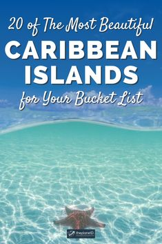 Best Caribbean Islands to Visit | Dreaming of a Caribbean vacation? To ignite the dreamer in you, we've rounded up the most beautiful Caribbean Islands. | The Planet D #Caribbean #CaribbeanIslands | caribbean islands list | caribbean islands to visit | best caribbean islands for couples | caribbean islands hopping Caribbean Resort, Caribbean Vacations, America And Canada, North America, Travel Ideas, Travel Inspiration, Caribbean Islands To Visit, Top All Inclusive Resorts, Future Travel