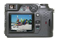 Preisvergleiche Olympus Camedia C-4040 Zoom Digitalkamera (41 Megapixel) Überlagerung