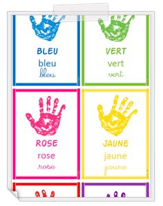 French Teaching Resources, Teaching French, Learning Resources, Teaching Kids, High Scope, French Colors, Preschool Colors, Alphabet For Kids, Games