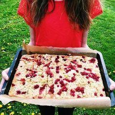 Rychlý rebarborový koláč – Hungrypanda.cz Picnic, Food And Drink, Favorite Recipes, Sweets, Bread, Baking, Desserts, Dessert Ideas, Basket