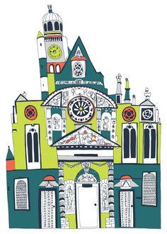 Jess Hogarth, Paris Church (St. Eustache)