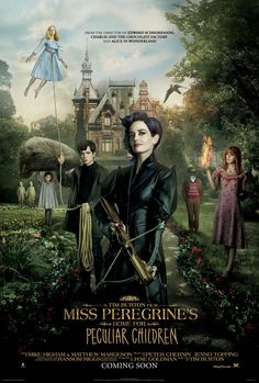 'Miss Peregrine's Home for Peculiar Children' Poster