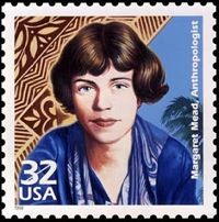 Margaret Mead in a beautifully designed stamp