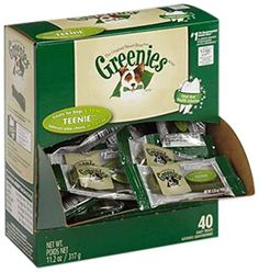 GREENIES 428656 40 Count Greenies Mini-Me Merchandisers Treats for Pets *** More info could be found at the image url.