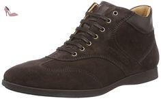 Sebago Teague T Toe Mid, Oxford Homme - Marron (dk Brown Suede), 43.5 EU - Chaussures sebago (*Partner-Link)