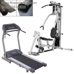 Powerline Gym and Treadmill Combo - BSG10TF3I  Everything you need to get in shape! Save over $800 when you buy this package instead of individual items, and get free shipping on everything.